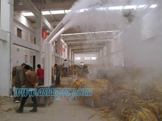 The importance of using ultrasonic humidification system in tobacco industry