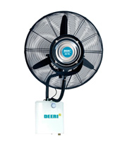 Top modern wall mounted misting Fan with rain protection