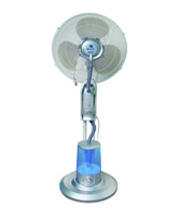 Household misting fan
