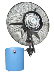 Economical wall mounted mist fan