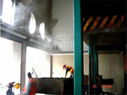 Deodorization and disinfection spray equipment for garbage station