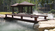 Outdoor Artificial  fog system
