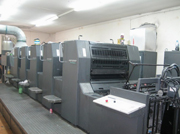 Deeri Spray humidification system for printing industry
